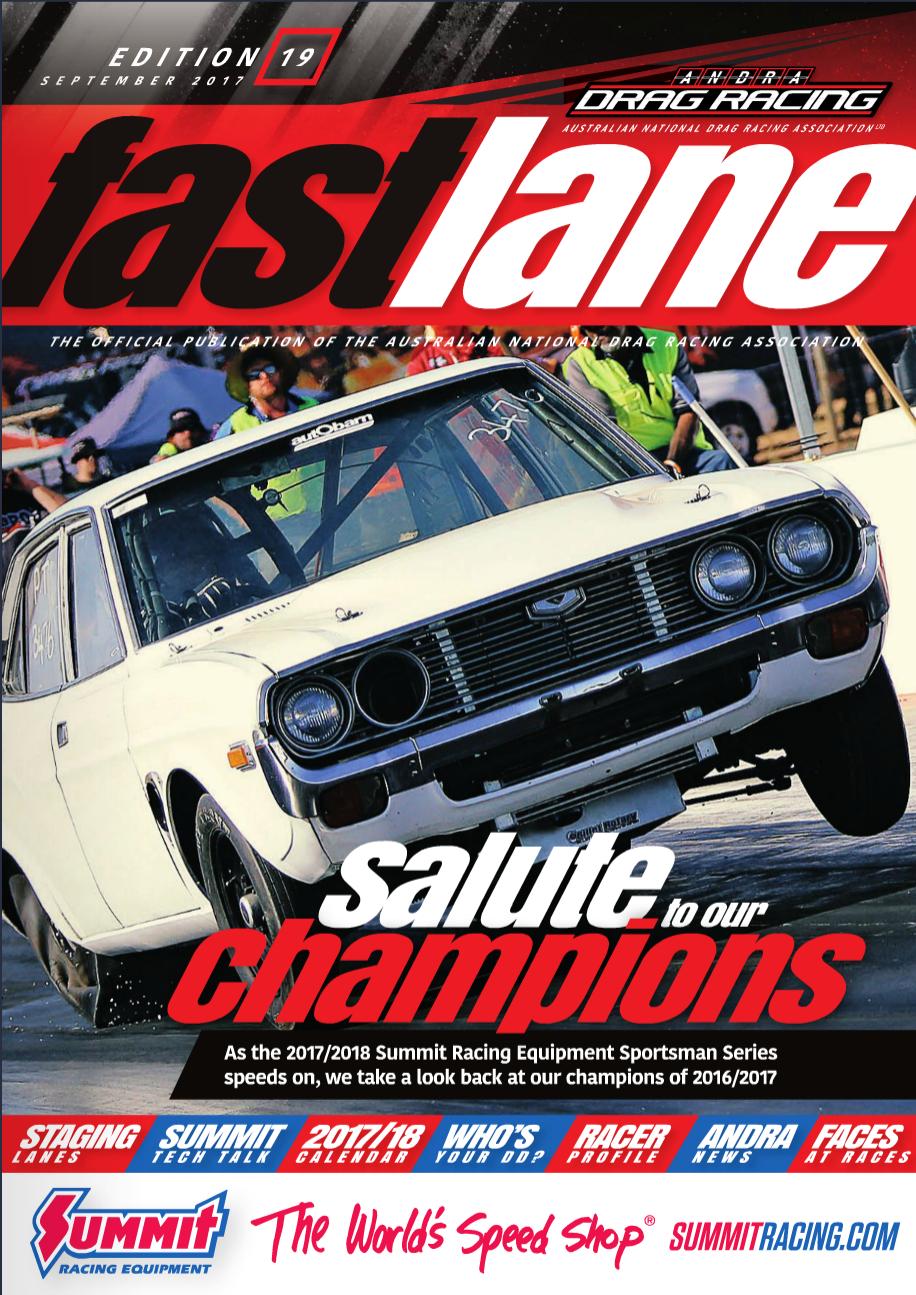 Fastlane Magazine Issue 19 - Cover