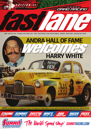 Fastlane Magazine Issue 21 Cover
