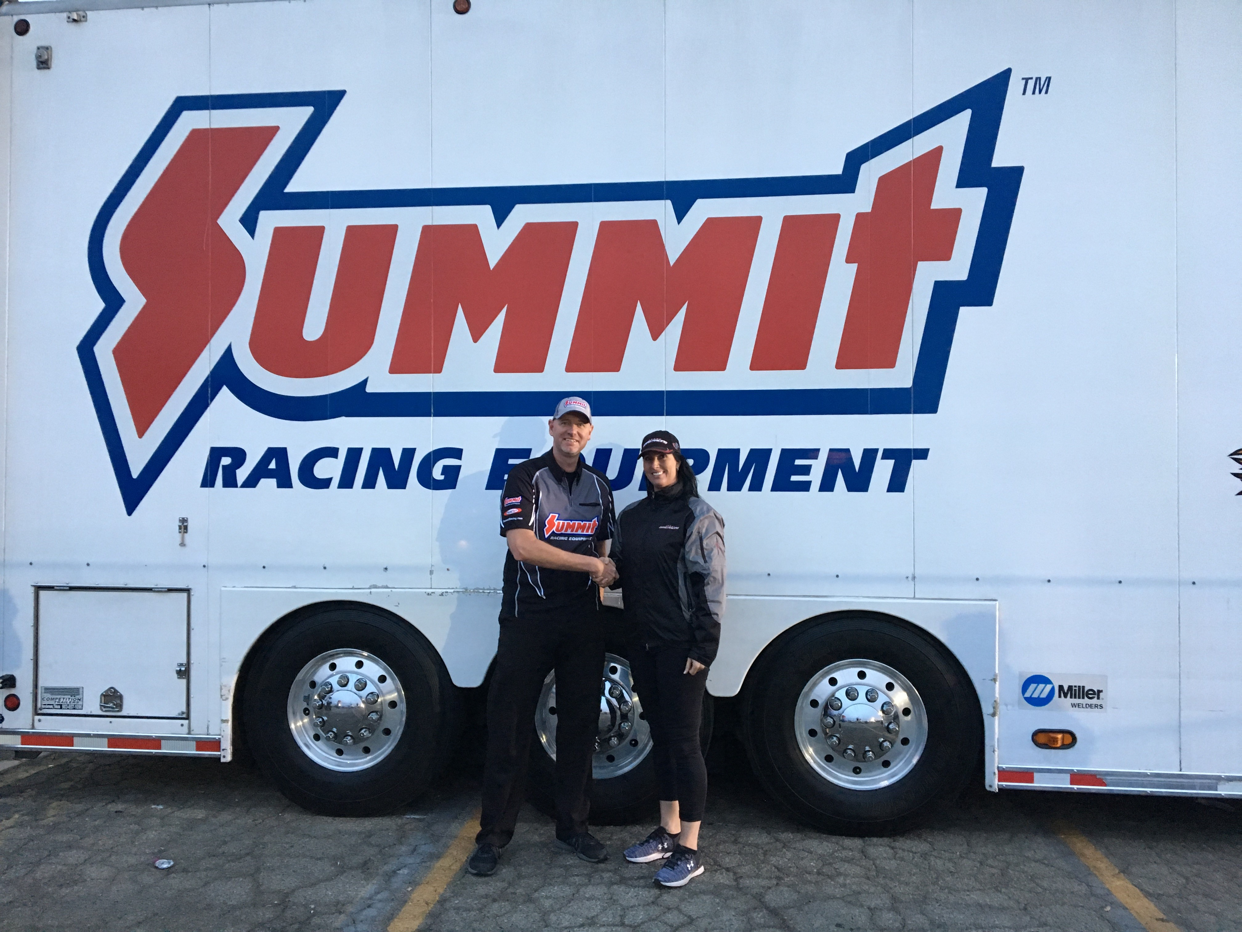 Summit Racing Equipment and ANDRA renew relationship