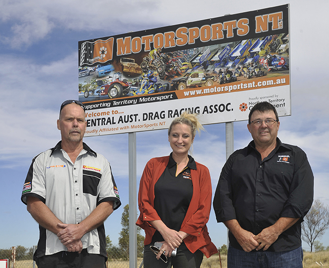 mark yak probst president of central australia drag racing association heid - web