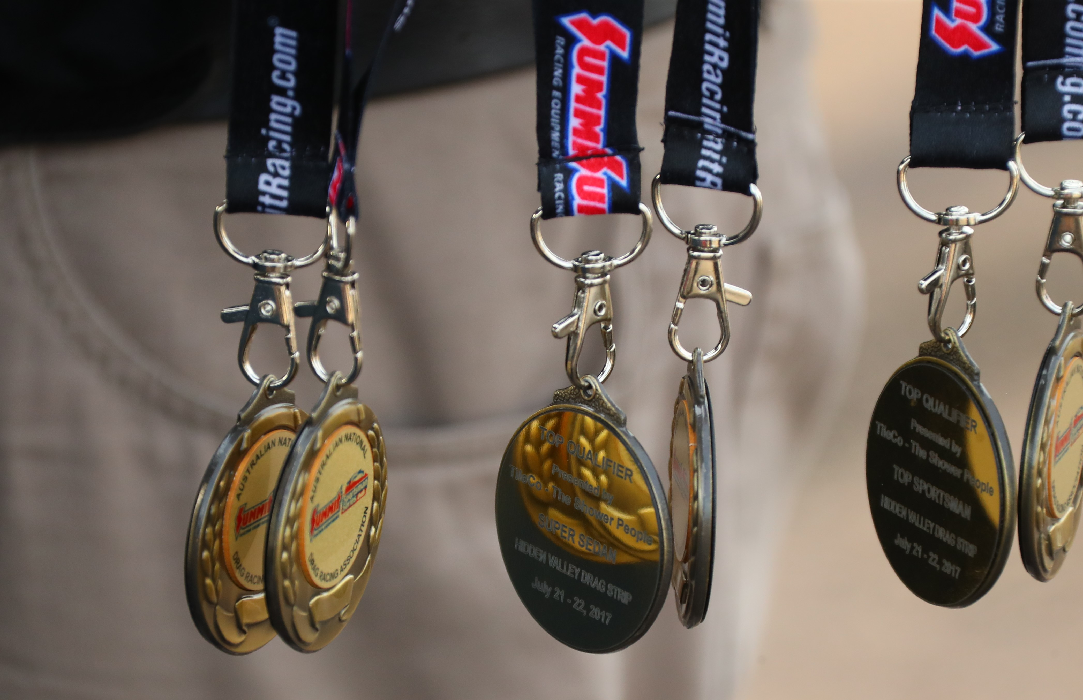 Top Qualifier Medallions Credit:DragPhotos.com.au