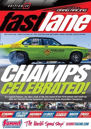 FASTLANE 23 COVER
